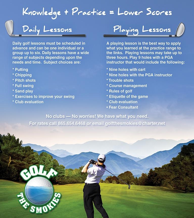 Golf The Smokies Brochure Inside